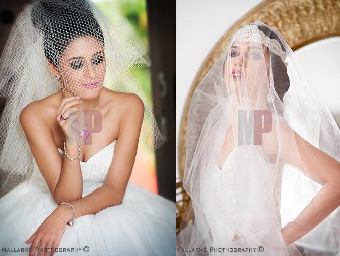 editorial de moda de vestidos de novia