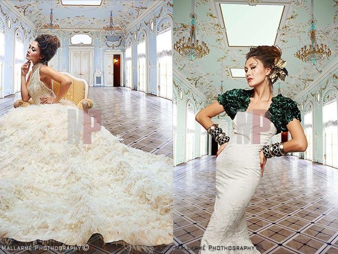 fotografia de editorial de vestidos de novia