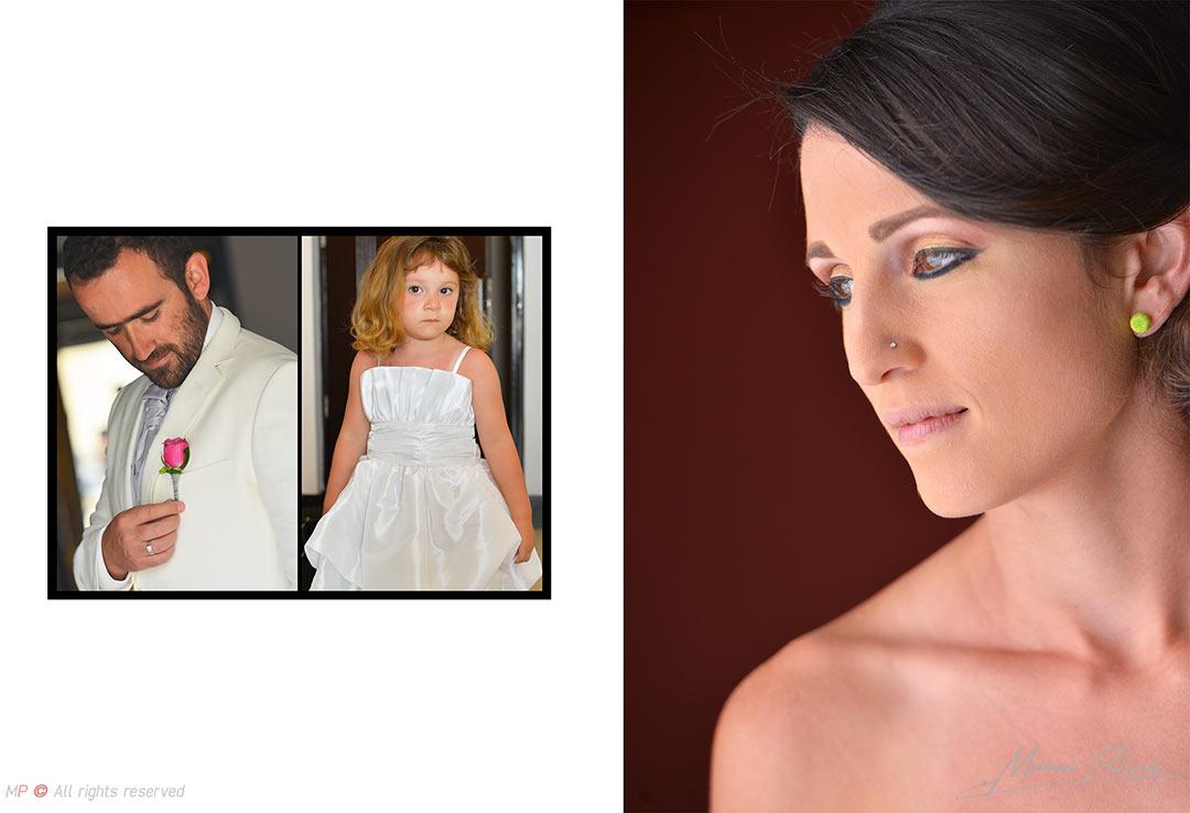 wonderful bride portrait from a Playa del Carmen wedding