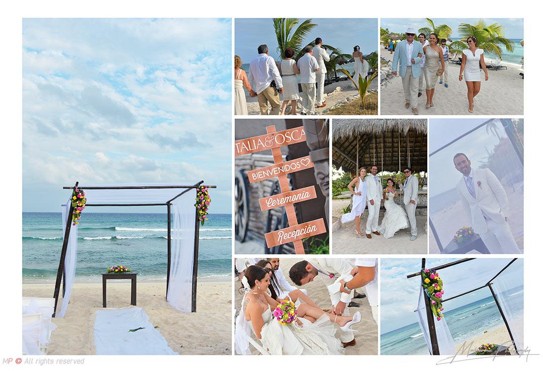 Fotografo de bodas en Playa del Carmen