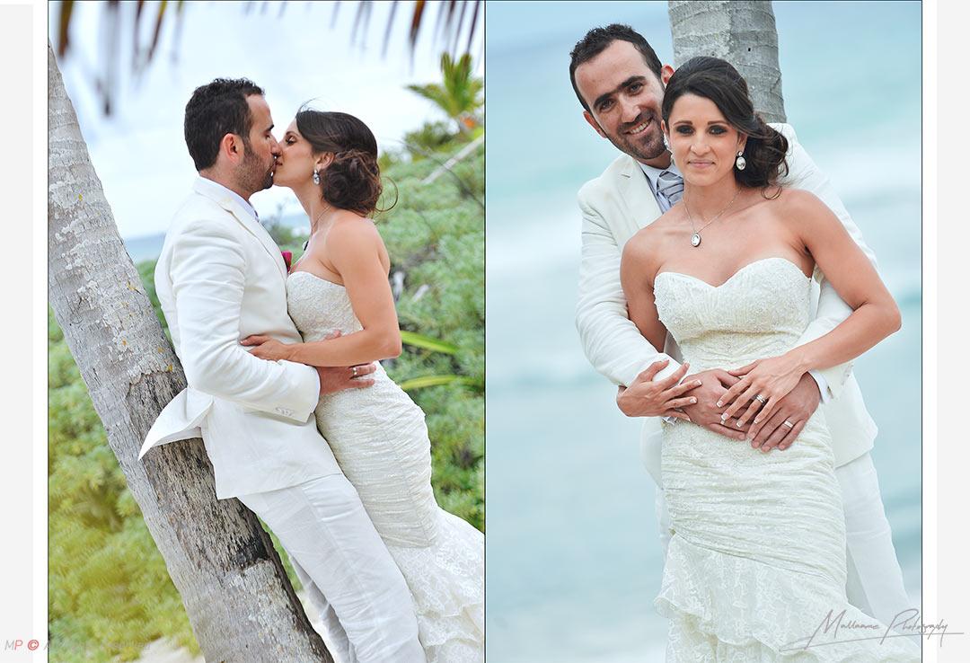 Románticas sesión de bodas en Playa del Carmen