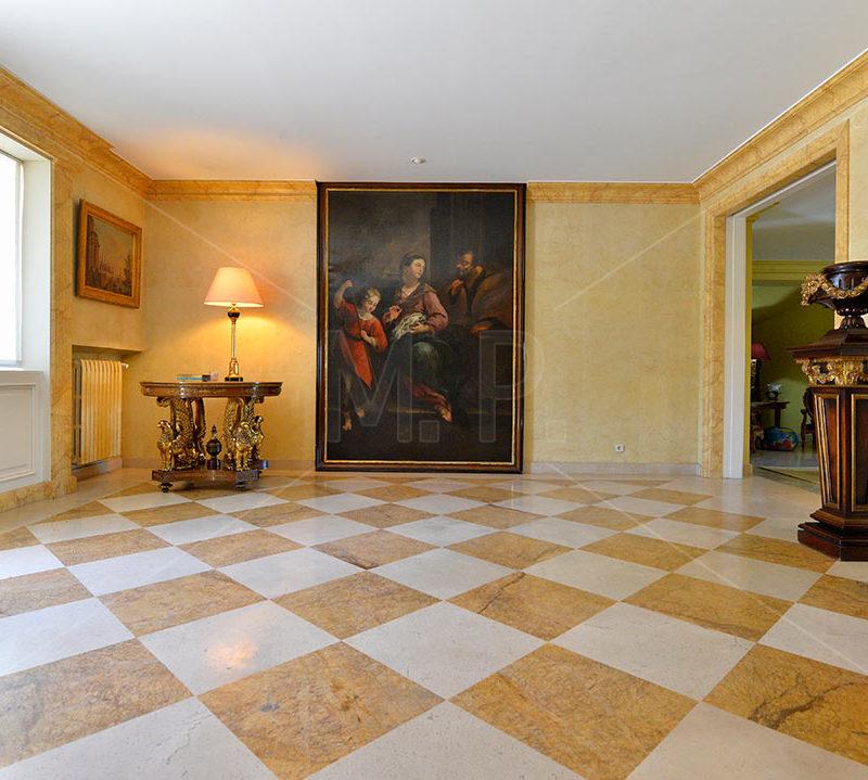 recibidor en fotografia de interiores